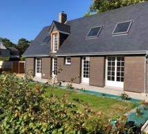 belle maison de 73 m² à Le Mesnil Jourdain avec terrasse, charreterie et jardin